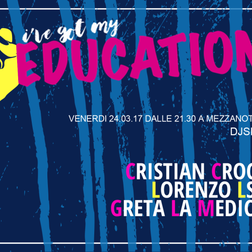 ive got my education blanco milano-paint-cover