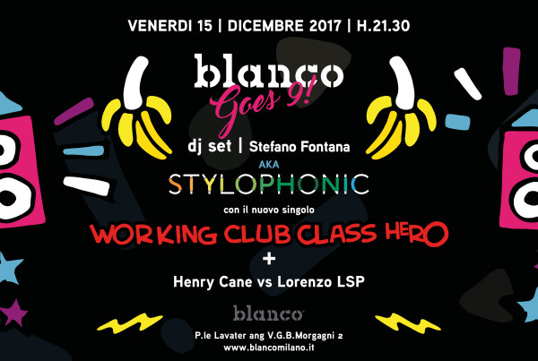 blanco goes 9 stylophonic