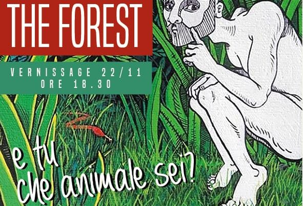 Mostra Cosimo Carola The Forest Blanco